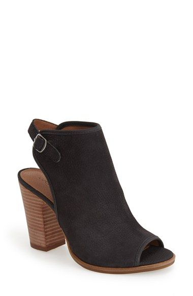 Lucky Brand 'Lisza' Open Toe Bootie (Women) available at #Nordstrom