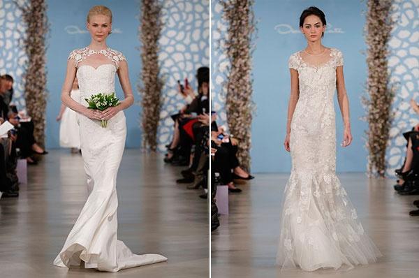 свадебные платья русалка свадебные платье #wedding #oscar_de_la_renta #dresses_2014