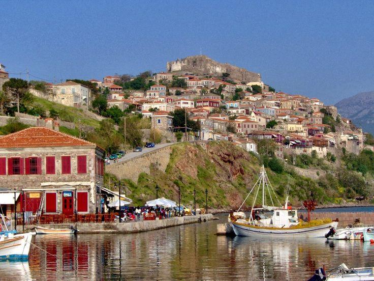 Molyvos, Lesvos Greece: