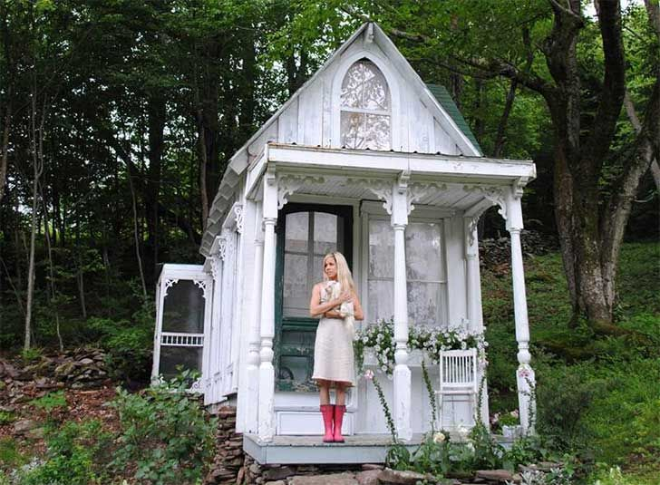 She Shed, she shed catskills mountains, tiny spaces, urban design, interior design, repurposed sheds, shed designs, cottage design, cottages ny, Barbara Techel, Sandra Foster, cottage spaces, tiny spaces nyc, man cave