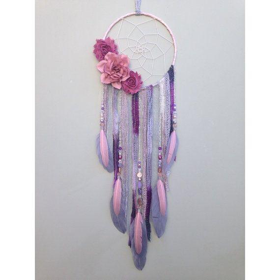 Atrapasueños flor personalizada atrapasueños por InspiredSoulShop
