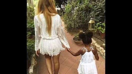 BLUE IVY CARTER : Close-Up Pics of Beyonce's and Jay Z's Little Girl (September 2015)
