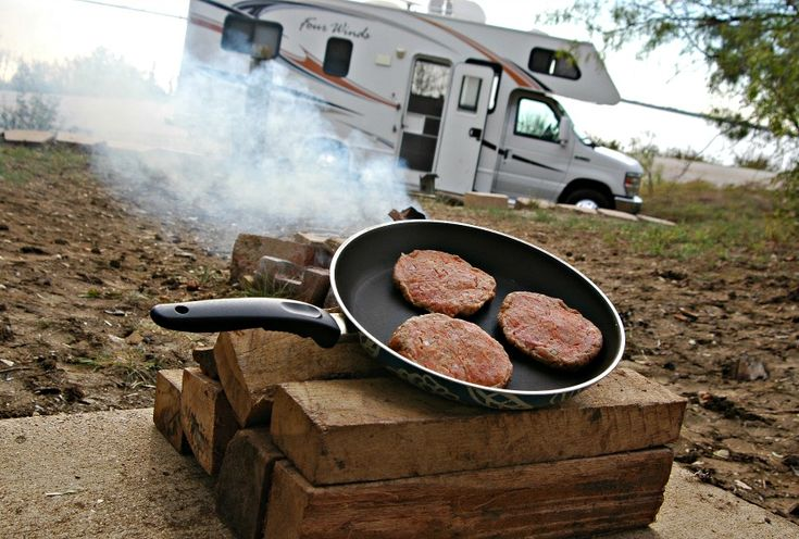 All in One Burger: A campground favorite! Pair with a salad for a well-rounded dinner.