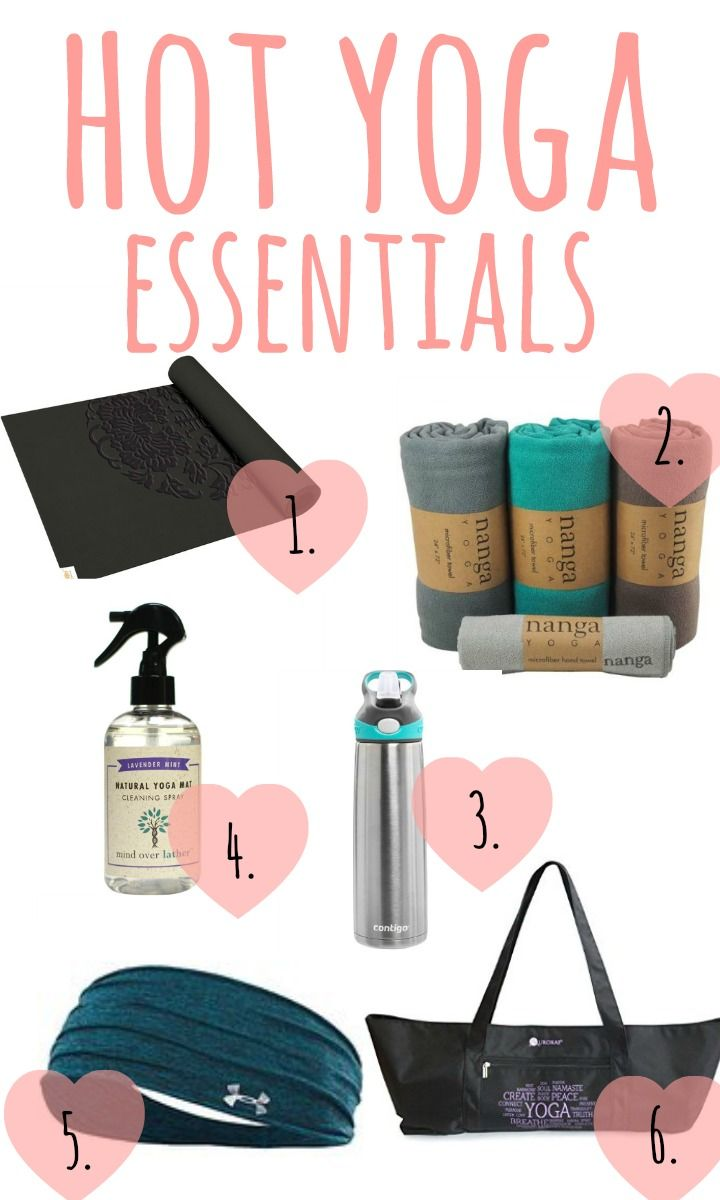hot yoga essentials