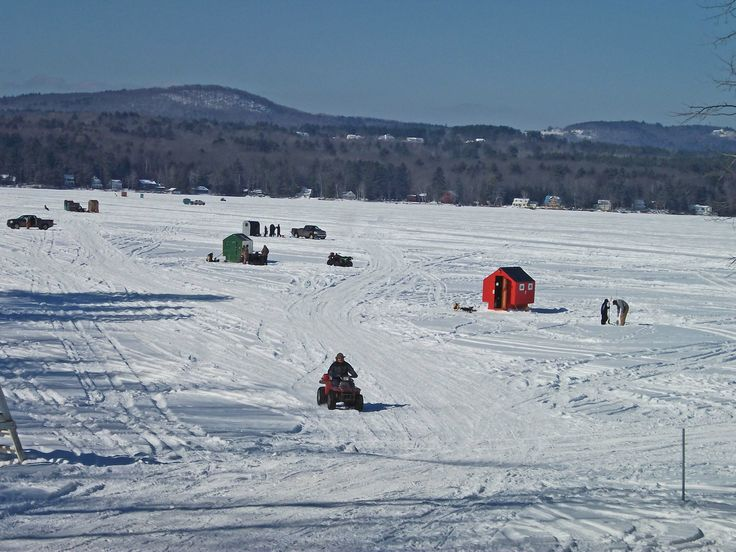 1000 images about where i be on pinterest lakes diners for Ice fishing nh