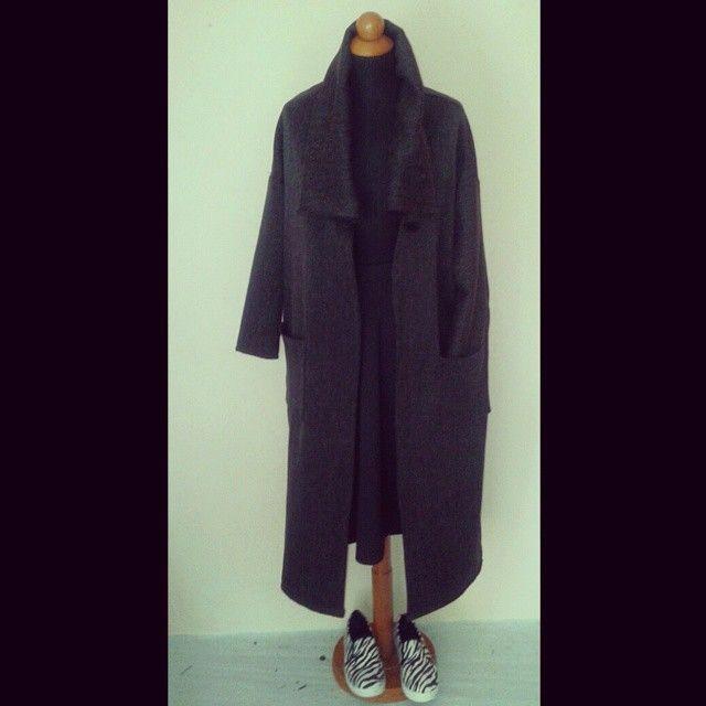 Handmade Oversized Coat...testing skills