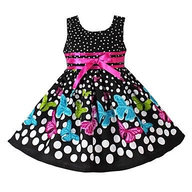 Girls Designer Colourful Butterfly Princess Dress. Only at www.pandadeals.co.uk