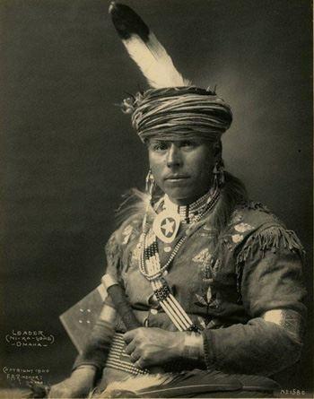 Ni-Ka-Gohe (aka Leader) - Omaha – 1900