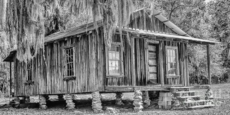 Old Florida Cracker House Photograph  - Old Florida Cracker House Fine Art Print looks like my great grandparents house in west bay