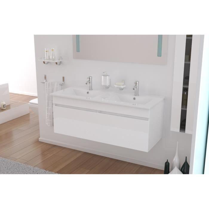 1000 id es sur le th me meuble double vasque sur pinterest for Miroir 120x40