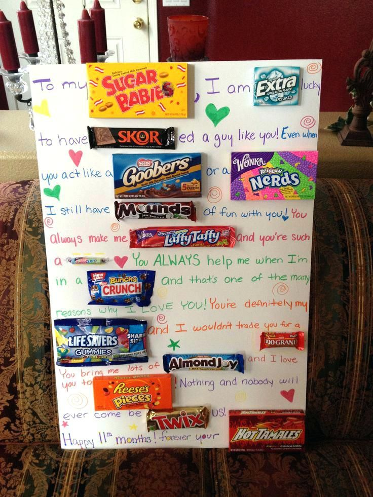Best Of Gift Ideas For Boyfriend Snapshots Newly Gift Ideas For Boyfriend An Creative Gifts For Boyfriend Birthday Cards For Boyfriend Valentines Candy Poster