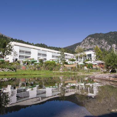 Aussenansicht VALAVIER AKTIVRESORT****S in Vorarlberg! Neueröffnung 15.08.2017  #leadingsparesorts #leadingspa #wellness # spa #beauty #neueröffnung #umbau #vorarlberg #austria #hotels #wellnesshotel #aktivresort #resort