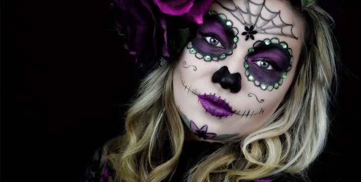 Zjawiskowy makijaż na Halloween | Jak