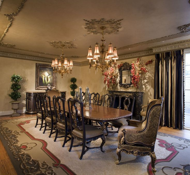 Beautiful dining room home deco pinterest comedores for Pictures of beautiful dining rooms