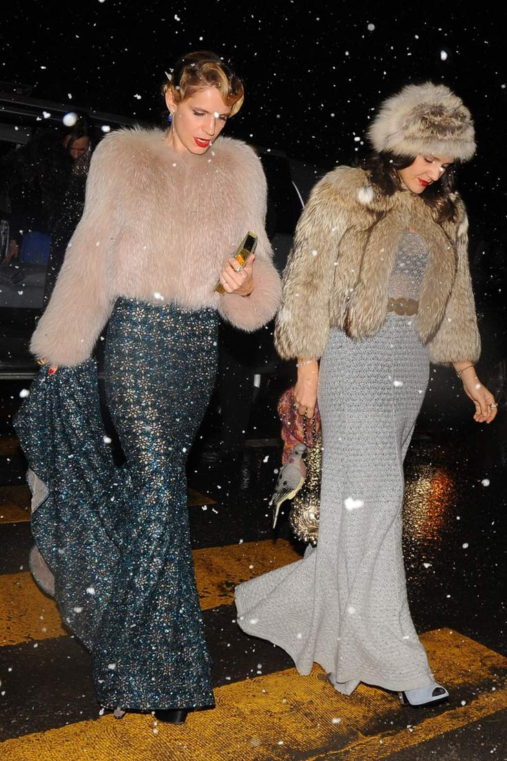 Andrea Casiraghi & Tatiana Santo Domingo's winter wedding | Eugenia Niarchos y Margherita Missoni