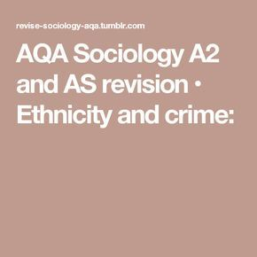 aqa sociology a2 coursework Products 1 - 60 of 13243  aqa a level sociology book one including as level: book one (3rd revised  edition quick look  a-level sociology: aqa year 1 & 2 complete revision &  practice  being and nothingness: an essay in.