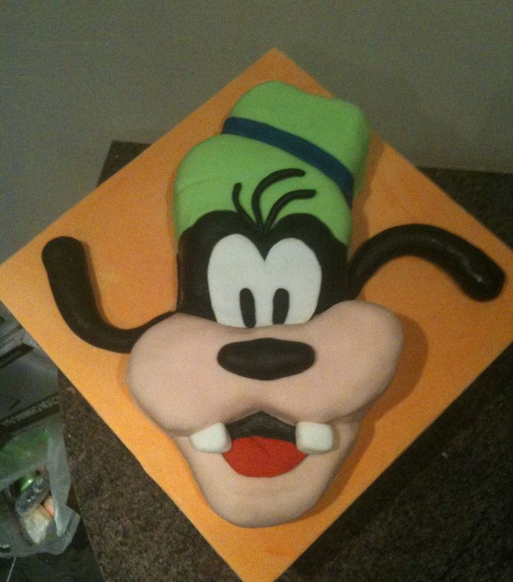 Kids are sure to love a birthday cake that replicates the famous Disney character Goofy. Description from littlebcakes.com. I searched for this on bing.com/images