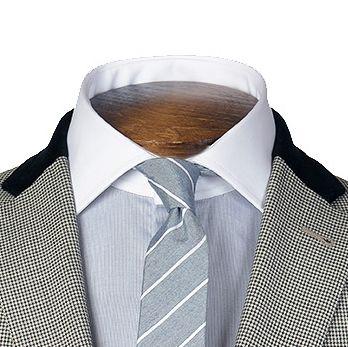 Gagliardi Dogstooth Evening Jacket, detail shot