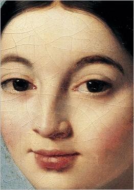 Mademoiselle Caroline Rivière (1793-1807) (détail) Dominique INGRES