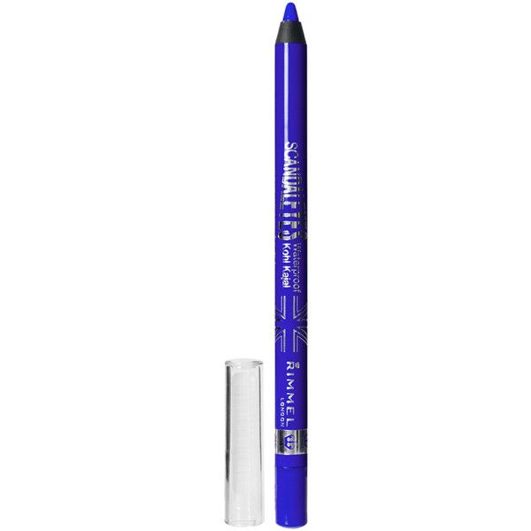 Rimmel London Scandaleyes Waterproof Kohl Liner ($6.27) ❤ liked on Polyvore