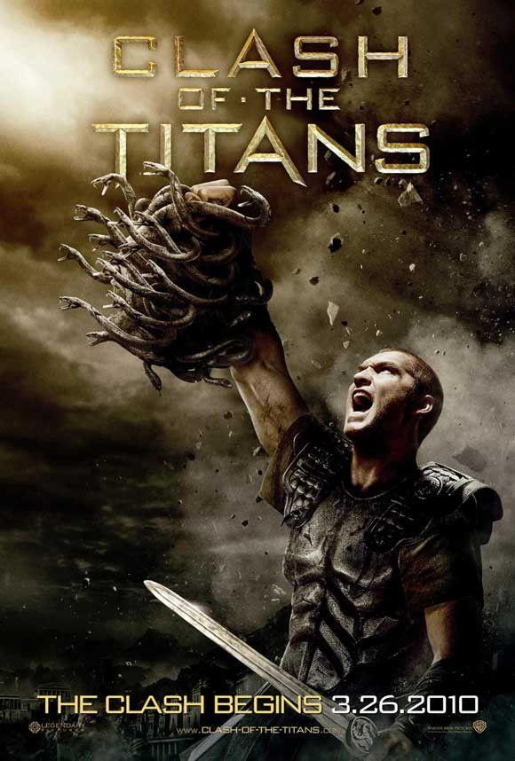 Clash of the Titans 11x17 Movie Poster (2010)