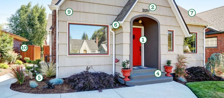 How to Improve Your Curb Appeal Smart updates to your home's exterior will boost both its appearance and value. Approximately $500 or less 1. Paint or refinish the front door. Use an app to help envision the future color before you paint. 2. Change up the hardware. Replace weathered house numbers, add light fixtures, and …