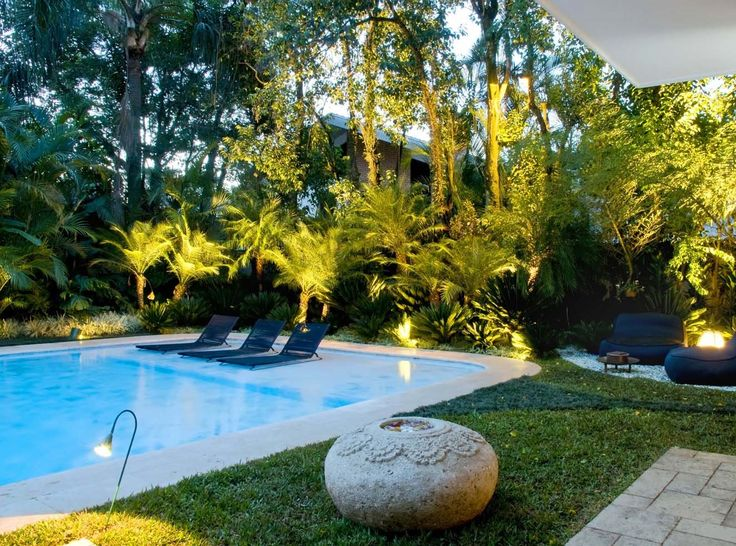1000 ideas about landscaping around pool on pinterest for Gardens around pools