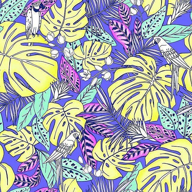 A while ago I posted this design » https://patternbank.com/katerinagri – Decided to come back to it with new bright juicy colorways, here is one of the options. It will be available on @patternbank soon. Некоторое время назад я уже публиковала этот дизайн. Решила к нему вернуться с новыми сочными и яркими цветовыми решениями.