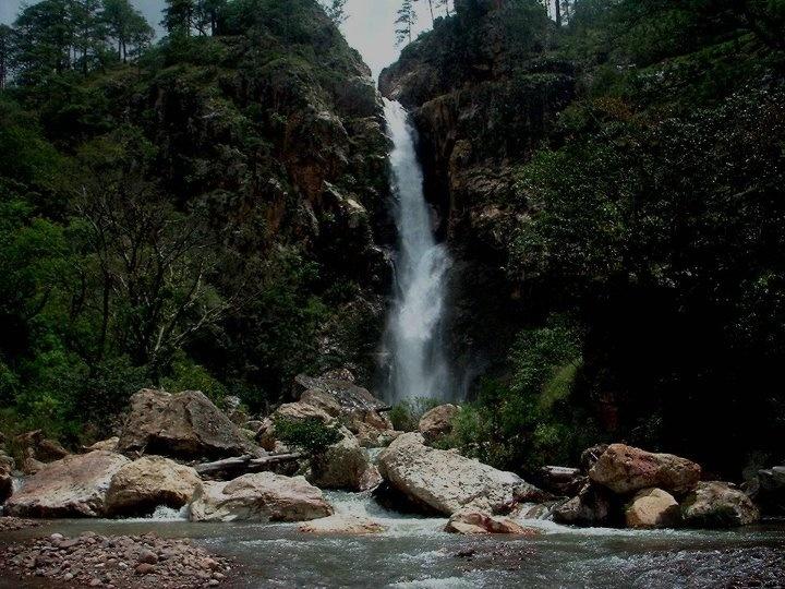 Cascada de la Mina de la aldea de Duyusupo Honduras ...
