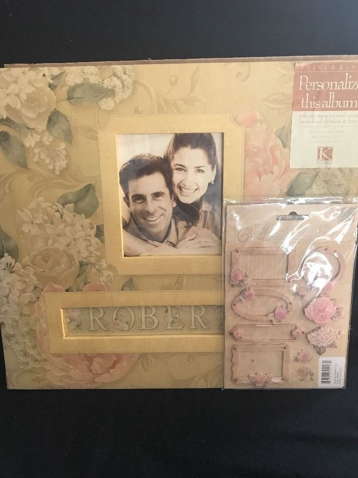 Photo Album Scrapbook Kit Floral Page Layouts Stickers Included 12x12 New  | eBay