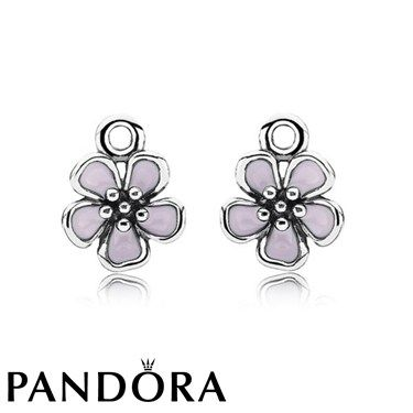 Pandora Pink Cherry Blossom Compose Earrings Clearance Deals 791153CZ [PAN791153CZ] - $35.00 : Pandora Charms Clearance On Sale - Pandora Jewelry Bracelets Cheap Online Sale