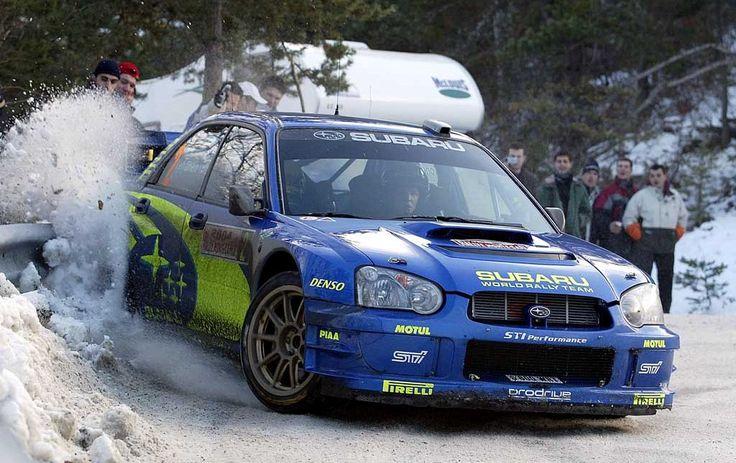 #Subaru #Impreza WRC #RallyCar. #Speed #Action #Power #Performance
