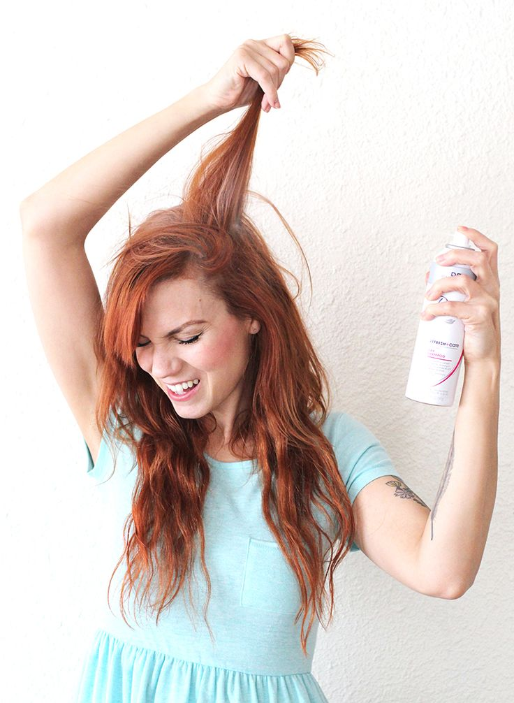 Dry Shampoo 101 - A BEAUTIFUL MESS. cinnamin and corn starch.
