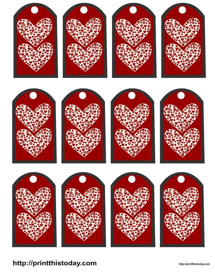 146 best etiquetas para san valentin images on pinterest - Corazones de san valentin ...