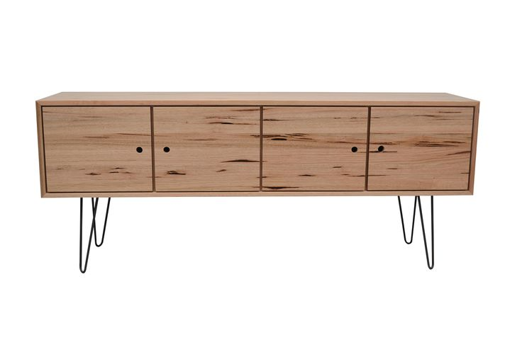 ELBF-040 HF 4 doors SPECIFICATIONS  Timber: Solid Tasmanian Oak (High Feature) Dimensions: 1800 w 450 d 760 h