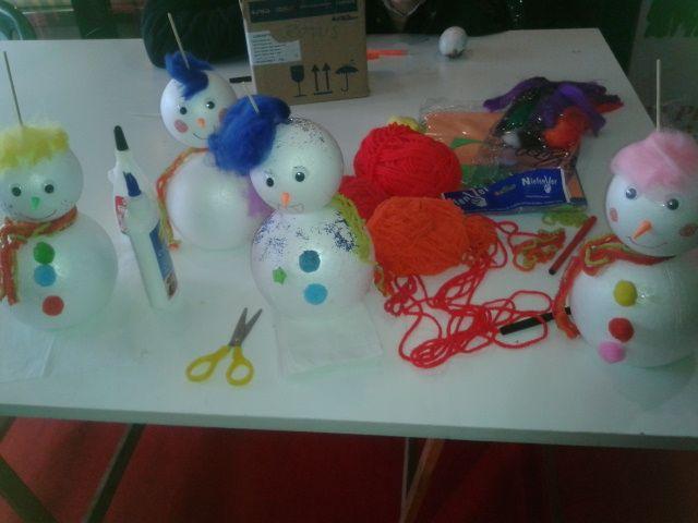 Muñecos de nueve para los más pequeños ... http://www.pozueloalcubo.es/