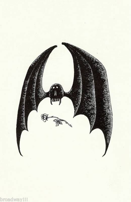 Edward Gorey Bat