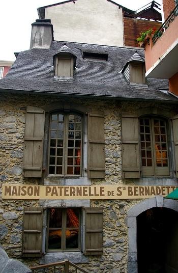 Home of St. Bernadette Soubirous in Lourdes.