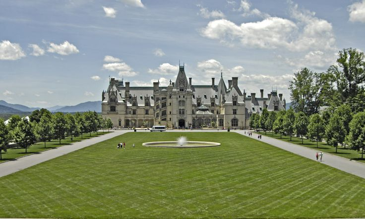 Largest Castle in America | The beautiful Biltmore House...America's largest castle.)