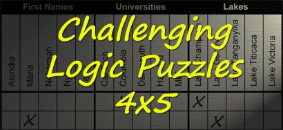 Logic PuzzlesPrintables Logic, Mindfulness Business, Mental Health, Challenges Puzzles Cognitive, Prints Weeks, Logic Puzzles, Logic Problems, Deduction Reasons, Kaycee Assignments Daily