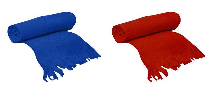 Bufanda de polar. Distintos colores
