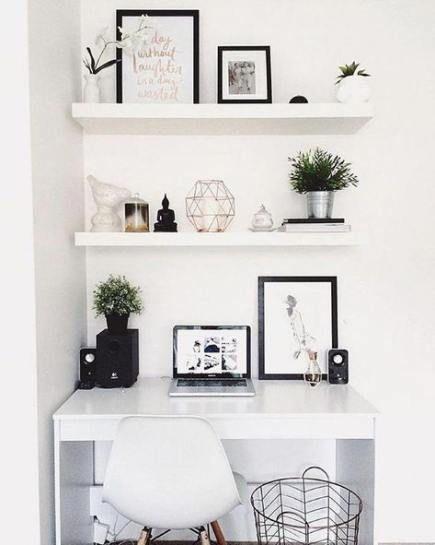 DIY Schlafzimmer Ideen für kleine Räume Floating Desk 60 Ideen für 2019