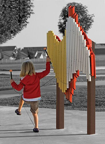 THE SWIRL (Standard - Orange) | Play Mart Playground Equipment