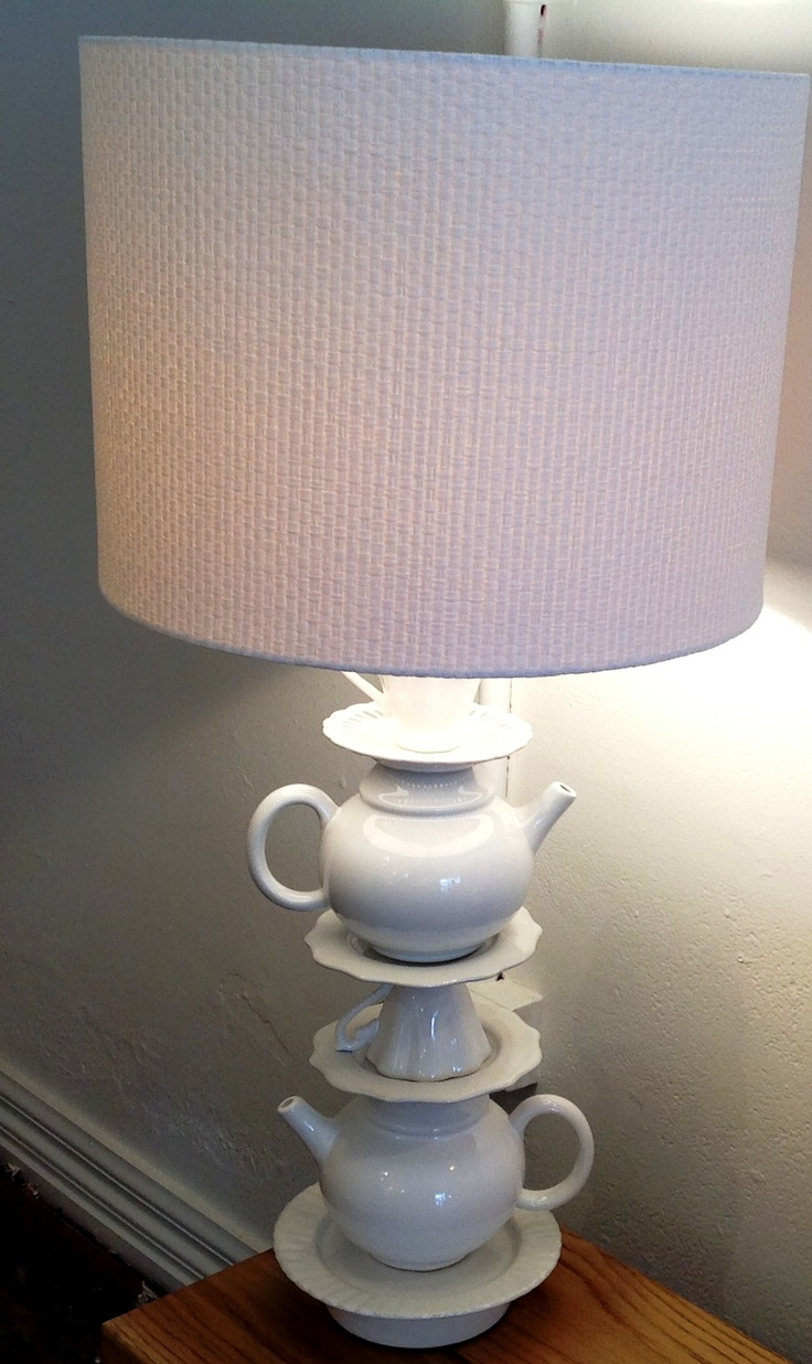 A touch of whimsy - Alice Teapot Lamp