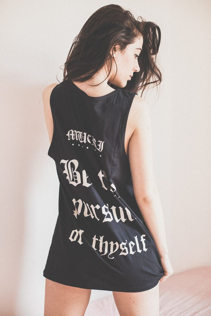 MUCRI OLD Tank Top - Back