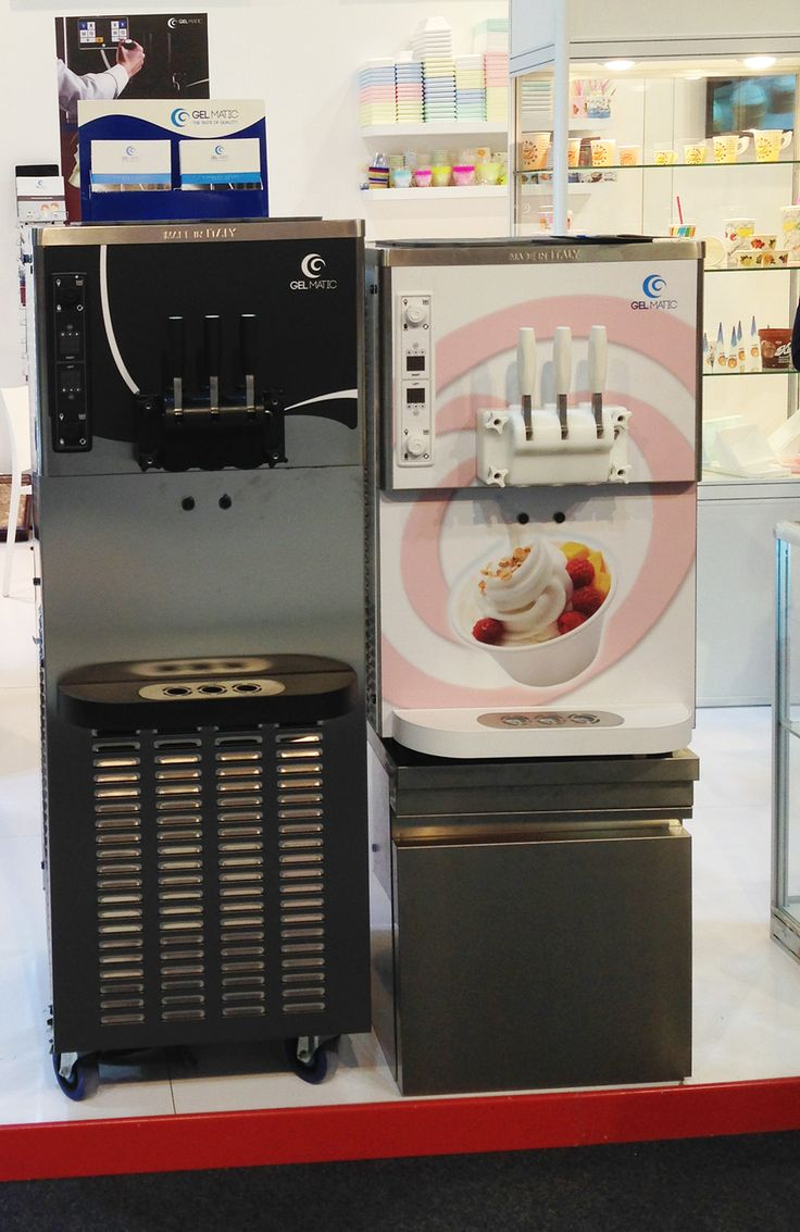 Gel Matic machines on display at Gulfood 2015.