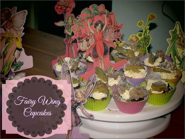 Fairy Wing Cupcakes
