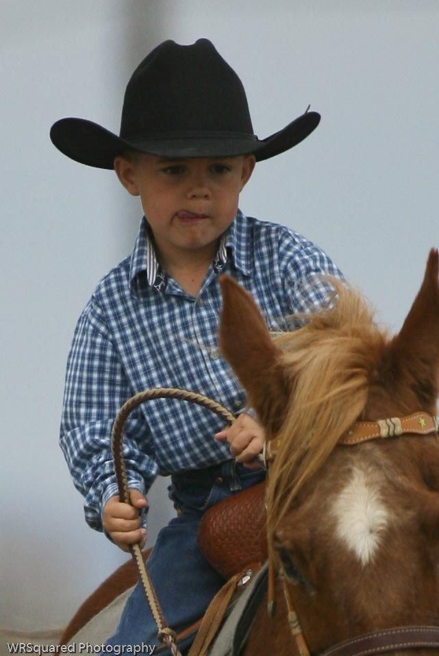 Lil' Cowboy... My heart just melted a little :)