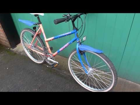 Ladies Mountain Bike + Reflective Paint + Mud Guards + 26'' wheels - http://mountain-bike-review.net/ladies-mountain-bike-reflective-paint-mud-guards-26-wheels/