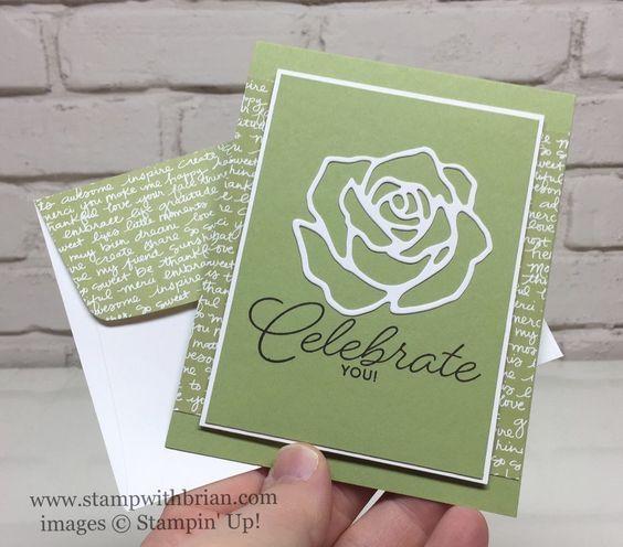Rose Garden Thinlits, Birthday Blast, Stampin' Up!, Brian King: